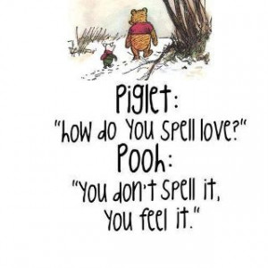 am in love with these Winnie the Pooh quotes!