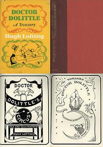 DOCTOR DOLITTLE A TREASURY Hugh Lofting 1967 65 Illus 1st ed