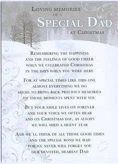 memorial poems for loved ones at christmas | Loving Memories of a ...