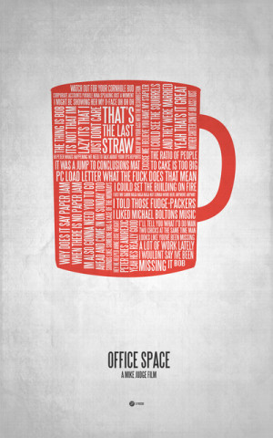 More Geeky Movie Quote Typographical Poster Art