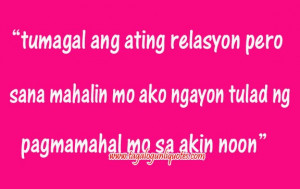 Love Quotes Inspirational Tagalog For Him