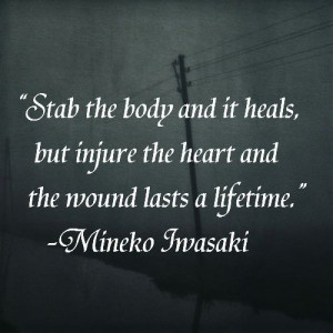 Being Stabbed In The Heart Quotes Quotesgram