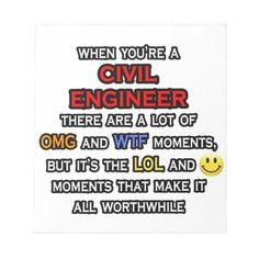 Funny Civil Engineer ... OMG WTF LOL Notepad