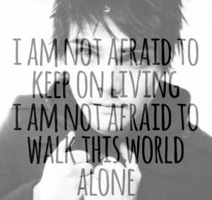 bands, famous last words, gerard way, lyrics, my chemical romance
