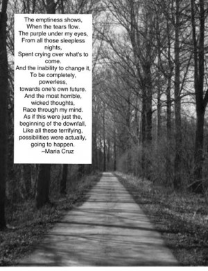 Poems And Quotes About Depression. QuotesGram