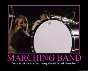 Cool Marching Band Quotes