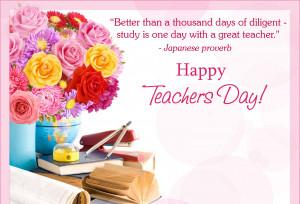 Happy teacher's day quote