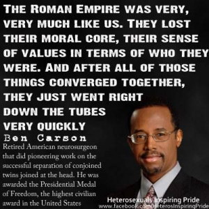 have said it is the fall of the roman empire the american empire and ...