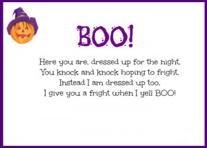 Here Are Some Best Halloween Poems For Kindergarten To Read. Let's ...