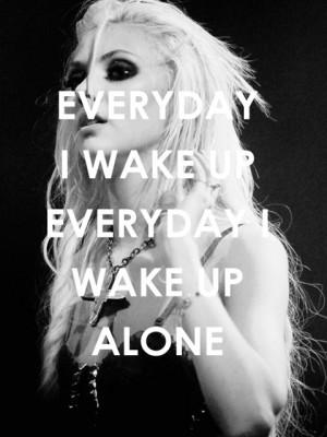 ı wake up alone