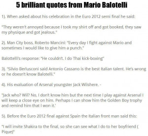 brilliant quotes from mario balotelli truestory http t co kpukwuoj