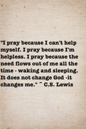 Lewis Quotes On Faith | The faith and wisdom of C.S. Lewis