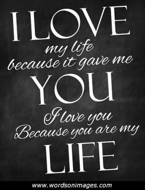 Thank you for loving me quotes
