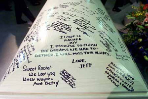 Rachel's Casket: an Outpouring of Love and Affection