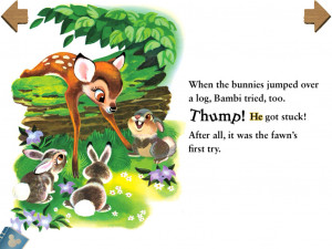 Bambi And Thumper And Flower Coloring Pages Bambi interactive app!