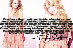 bad guy, cute, fairy tales, prince charming, quote, so true, taylor ...