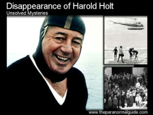 Harold Edward Holt was sworn in as Australia 39 s 17th Prime Minister ...