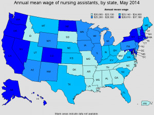 Certified Nursing Assistant Salary Data
