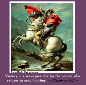 Napoleon hill napoleon on horse