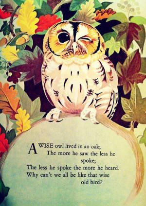 Owl Quotes!