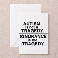 Cute Autism Greeting Card