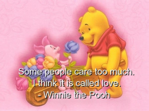 Winnie the pooh, quotes, sayings, quote, love, care, cute, positive