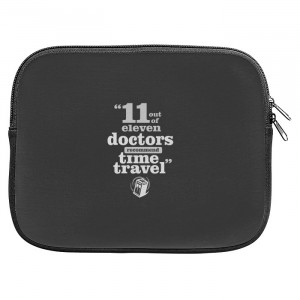 Doctor Who Travel Quotes Zipper Pouch