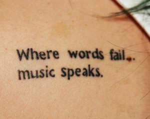 Cute Black Small Quote Tattoos For Girls – Charming Back Small Quote ...