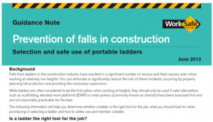 New Ladder Safety Guidelines