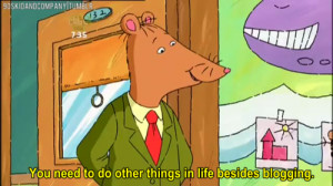 Pictured: PBS' Mr. Ratburn saying