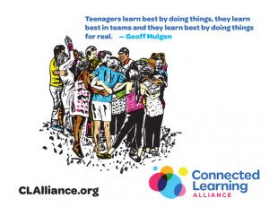 was created as part of the connected learning alliance s make learning