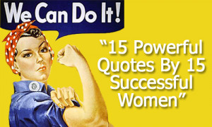 Women have long been a exceptional examples of success and wisdom ...