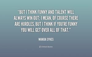Wanda Sykes Funny Quotes
