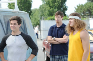 ... of Adam DeVine, Anders Holm and Blake Anderson in Workaholics (2011