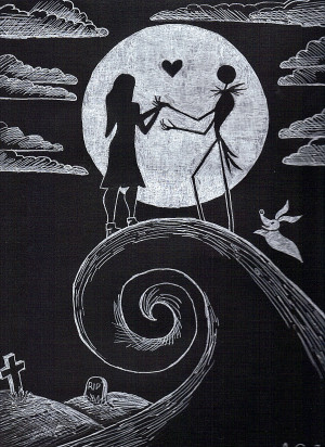 Jack and Sally by 21jesusfreak