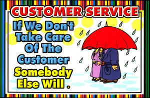 Great Customer Service begins at the Door