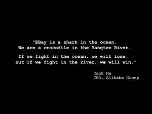 This quote, from founder Jack Ma, has become emblematic of the half ...