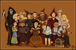 Discworld characters by ~ yenefer