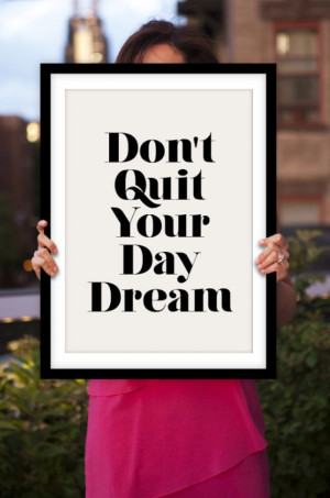 Inspirational Quote Motivational Print Don't by TheMotivatedType, $12 ...