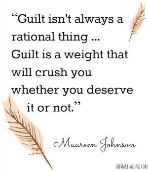 Get Over Guilt - Breakthrough Boot Camp Day 7