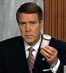 Bill Frist, Social Dominator. Come and get your poison! It will do us ...