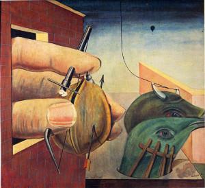 Oedipus Rex , oil on canvas, Max Ernst, 1922