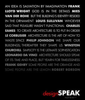 Architect Quotes Poster
