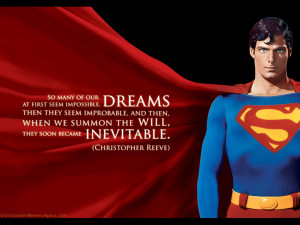 Superman (The Movie) Christopher Reeve Superman Wallpaper