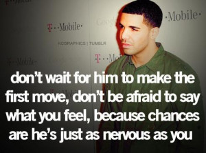 Nice quotes and love sayings rapper drake graham