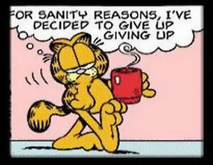 Morning Coffee With Garfield