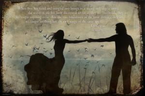 Les Misérables Quotes – When Love has fused…