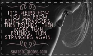 Strangers Again Quotes