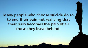 Quotes About Suicide Survivors