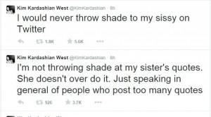 Kim Kardashian denies criticising Khloe Kardashian on Twitter, 6 ...